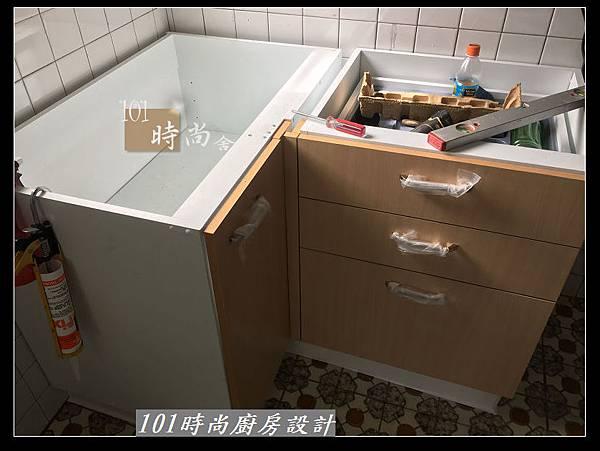 @L字型廚房設計 廚具工廠直營 作品分享:建國北王公館(22).jpg