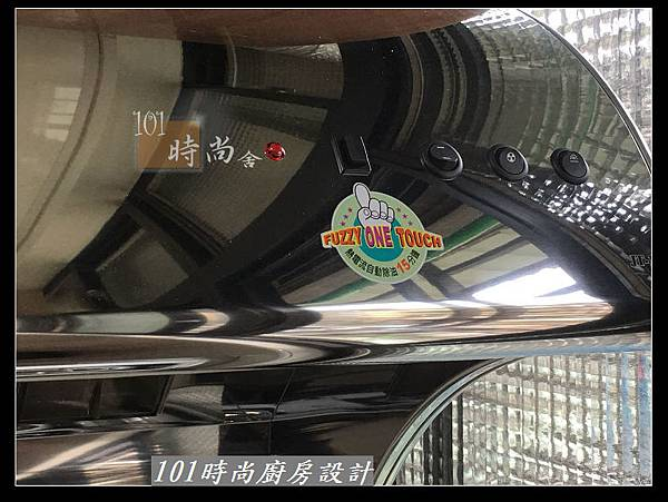 @不鏽鋼檯面廚房設計一字型作品-萬大路張公館(33).JPG