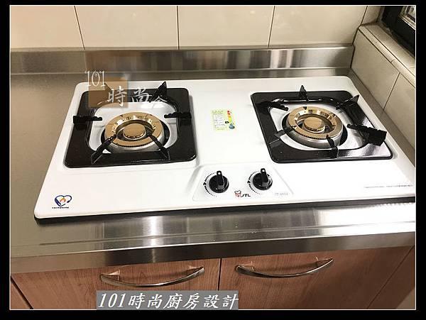 @不鏽鋼檯面廚房設計一字型作品-萬大路張公館(32).JPG