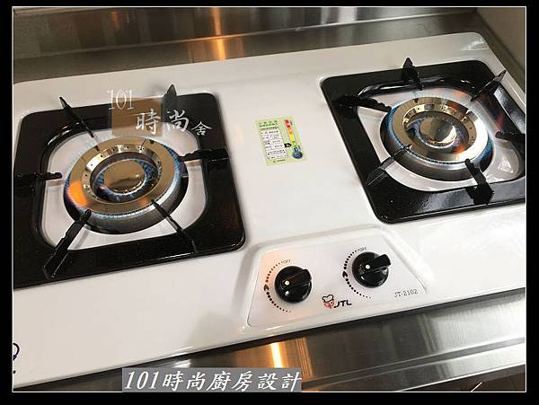 @不鏽鋼檯面廚房設計一字型作品-萬大路張公館(42).JPG