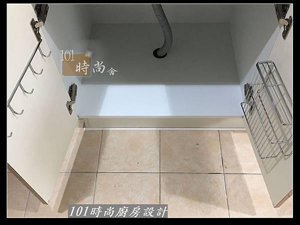 @不鏽鋼檯面廚房設計一字型作品-萬大路張公館(45).JPG