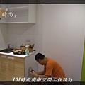 @小套房美耐板一字型廚房設計 廚具工廠直營  作品分享:板橋府中路楊公館-(3).JPG