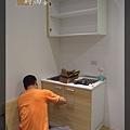 @小套房美耐板一字型廚房設計 廚具工廠直營  作品分享:板橋府中路楊公館-(5).JPG