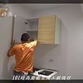 @小套房美耐板一字型廚房設計 廚具工廠直營  作品分享:板橋府中路楊公館-(7).JPG