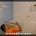 @小套房美耐板一字型廚房設計 廚具工廠直營  作品分享:板橋府中路楊公館-(10).JPG