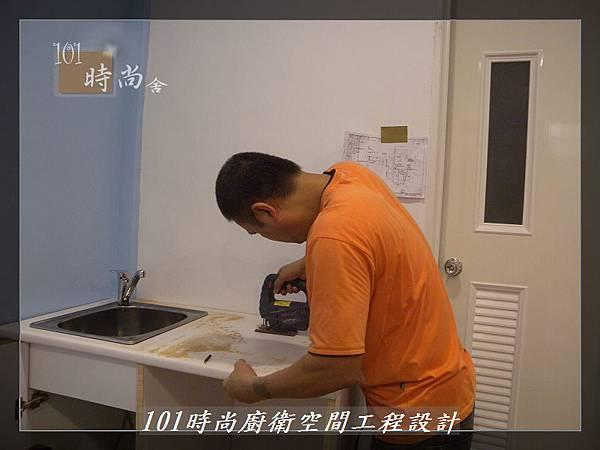 @小套房美耐板一字型廚房設計 廚具工廠直營  作品分享:板橋府中路楊公館-(32).JPG
