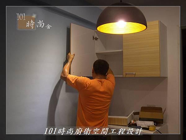 @小套房美耐板一字型廚房設計 廚具工廠直營  作品分享:板橋府中路楊公館-(47).JPG
