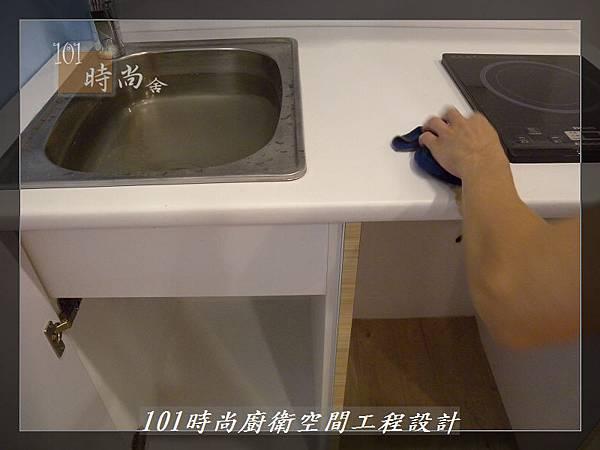 @小套房美耐板一字型廚房設計 廚具工廠直營  作品分享:板橋府中路楊公館-(56).JPG