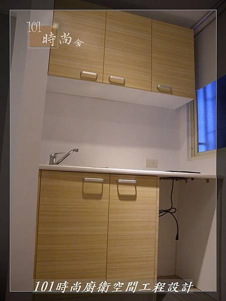 @小套房美耐板一字型廚房設計 廚具工廠直營  作品分享:板橋府中路楊公館-(107).JPG