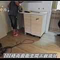 @廚房設計 廚具設計 廚房設計圖 廚房流理台 系統廚具 小套房廚具 廚具工廠直營 美耐板 一字型廚房設計 作品分享:三重劉公館(4).jpg