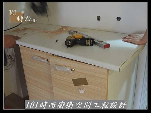@廚房設計 廚具設計 廚房設計圖 廚房流理台 系統廚具 小套房廚具 廚具工廠直營 美耐板 一字型廚房設計 作品分享:三重劉公館(7).jpg