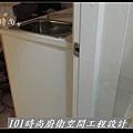 @廚房設計 廚具設計 廚房設計圖 廚房流理台 系統廚具 小套房廚具 廚具工廠直營 美耐板 一字型廚房設計 作品分享:三重劉公館(12).jpg