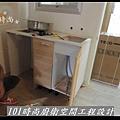 @廚房設計 廚具設計 廚房設計圖 廚房流理台 系統廚具 小套房廚具 廚具工廠直營 美耐板 一字型廚房設計 作品分享:三重劉公館(13).jpg