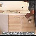 @廚房設計 廚具設計 廚房設計圖 廚房流理台 系統廚具 小套房廚具 廚具工廠直營 美耐板 一字型廚房設計 作品分享:三重劉公館(67).jpg