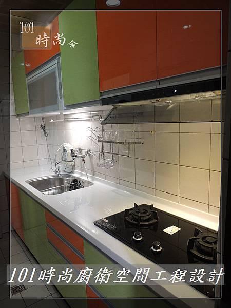 @廚房設計 廚具設計 廚房流理台 廚具工廠直營 人造石檯面一字型廚房 作品分享:中和董公館(22).jpg