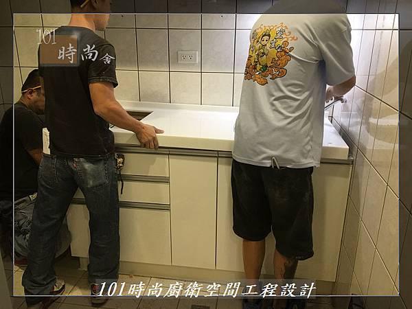 @ 廚房設計 廚具工廠直營 人造石檯面一字型廚房 作品-中和景平路涂公館-(34).JPG
