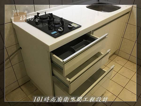 @ 廚房設計 廚具工廠直營 人造石檯面一字型廚房 作品-中和景平路涂公館-(64).JPG