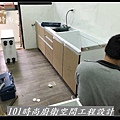 @ 廚房設計 廚具工廠直營 人造石檯面一字型廚房 作品-南港吳公館(3).jpg