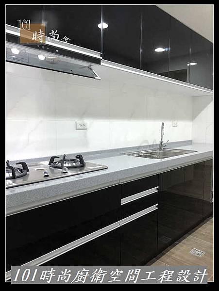 @ 廚房設計 廚具工廠直營 人造石檯面一字型廚房 作品-南港吳公館(95).jpg