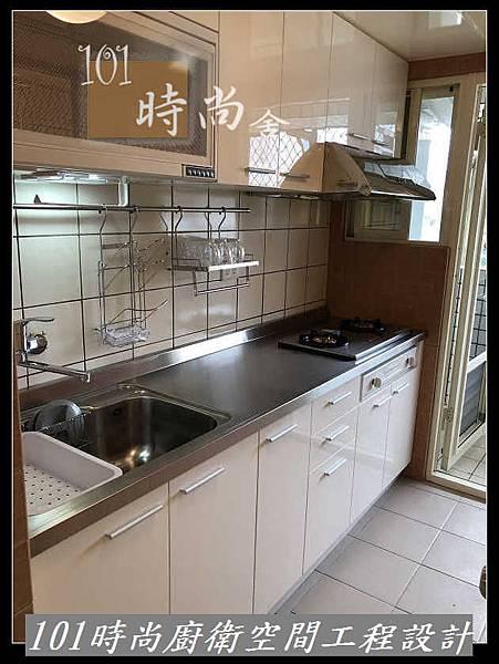 @不鏽鋼檯面一字型廚房設計 系統廚具櫥櫃工廠直營 作品分享:新店北宜路黃公館(55).jpg