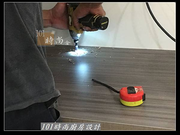 @小套房廚具  美耐板一字型廚房設計 作品分享-中和連城郭公館(1).jpg