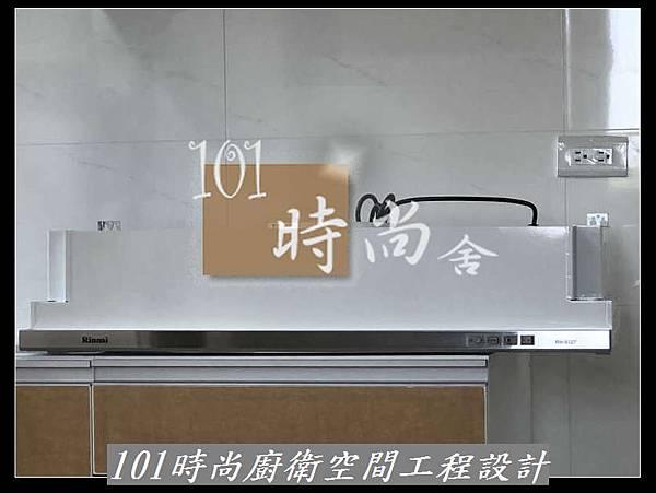 @L字型廚房設計 宜蘭頭城廚具工廠直營  101時尚系統廚具設計 韓國進口樂天(原三星)人造石 作品-宜蘭張公館 -進口樂天人造石檯面+木心板桶身+5面結晶鋼烤門板+林內三機 (39).jpg