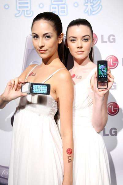 model 展示LG GD900 Crystal 新機(1).jpg