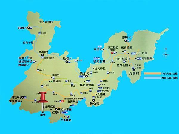 南竿-景點觀光圖-1500-鐵堡
