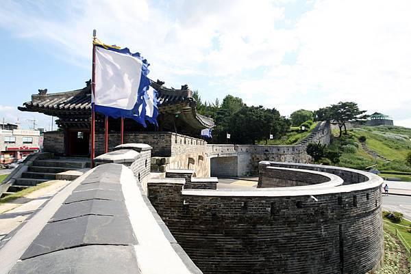 水原華城的城牆