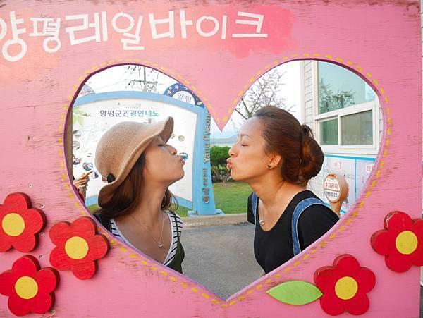 韓國人愛浪漫隨處可見