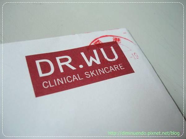 Dr. Wu也寄來了
