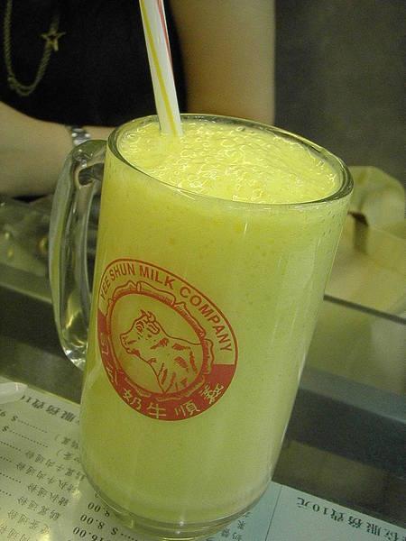 好像是冰凍芒果鮮奶HKD22