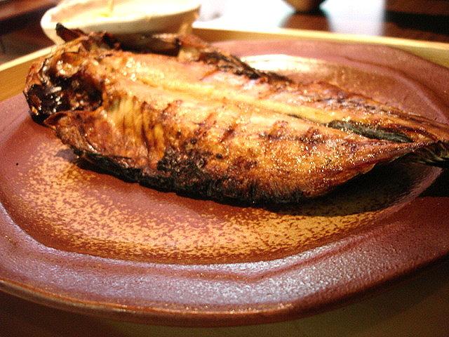 竹筴魚一夜乾特寫