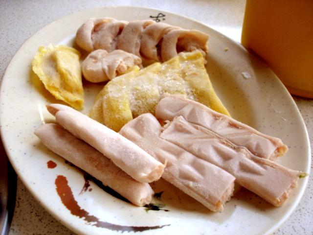 綜合魚,蛋,燕餃
