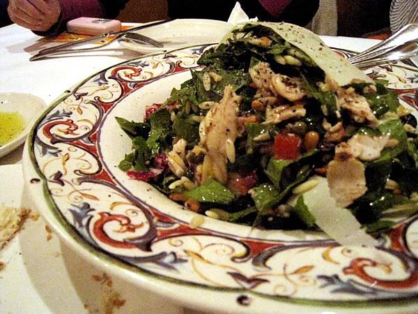 翡冷翠雞肉菠菜沙拉,430圓