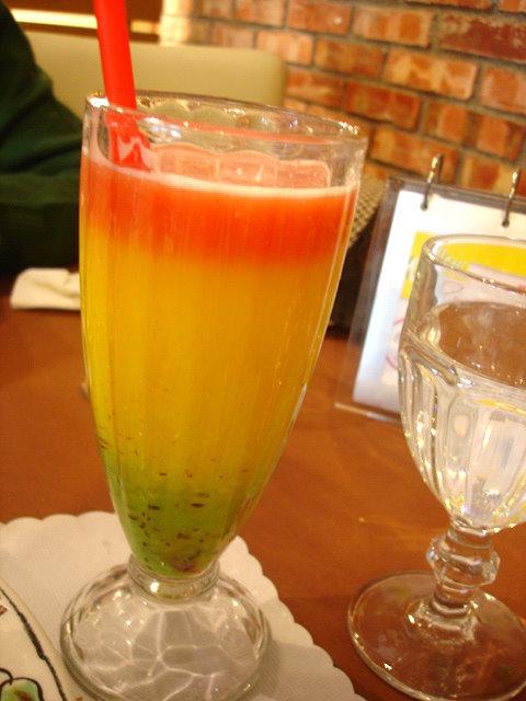我點的加州果汁