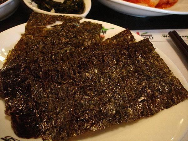 海苔可以包飯吃