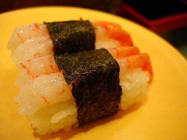 甜(甘)蝦握壽司