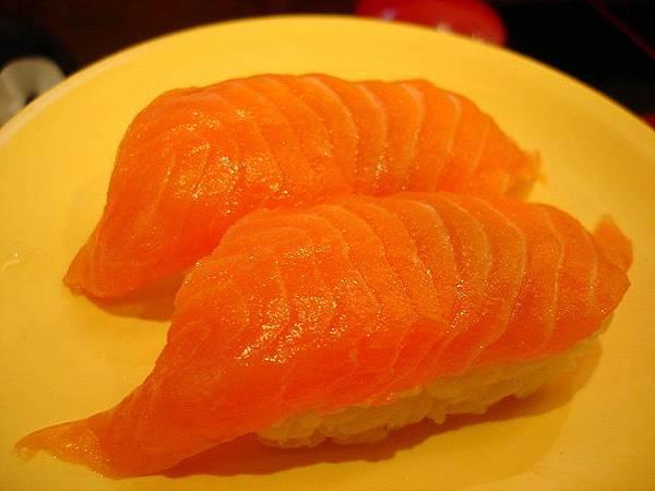 鮭魚握壽司