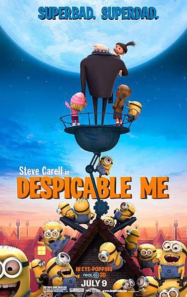 Despicable Me,神偷奶爸,2010