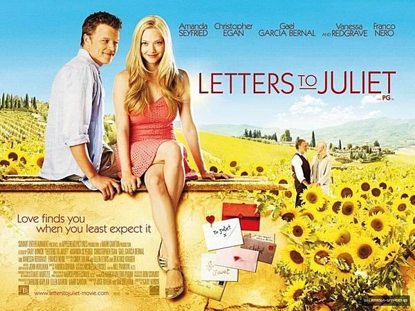 Letters to Juliet,給茱麗葉的信,2010