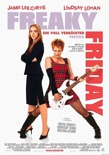 Freaky Friday,辣媽辣妹,2003