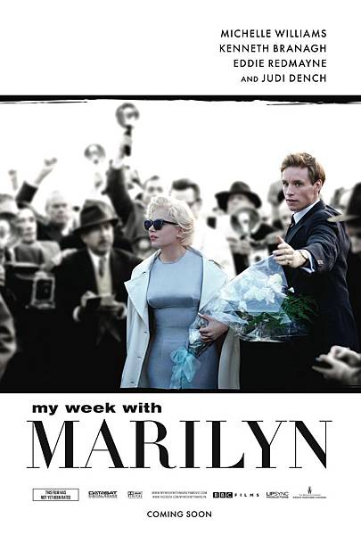 My Week with Marilyn,夢露與我的浪漫週記,2012