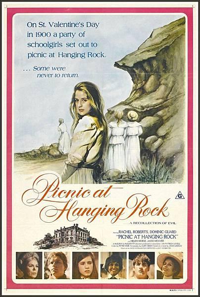 Picnic at Hanging Rock,懸崖上的野餐,1975
