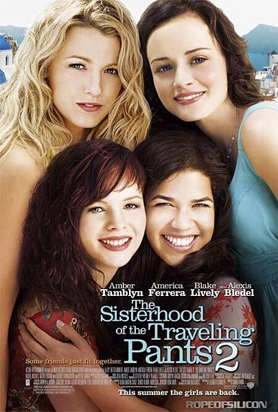 The Sisterhood of the Traveling Pants 2,牛仔褲的夏天2,2008