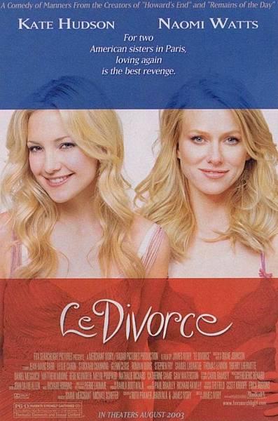 Le Divorce,愛情合作社/戀戀巴黎,2003