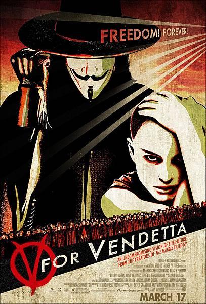 V For Vendetta,V怪客,2005
