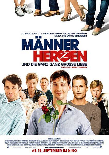 Männerherzen,Men in the City 2,熱戀攻心,2009