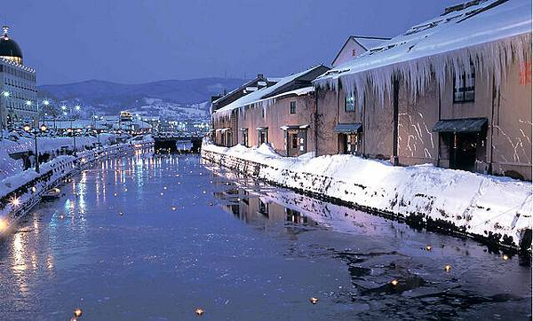 在札幌附近的小樽市的運河.jpg