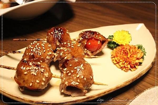串燒蕃茄豚五花,140元